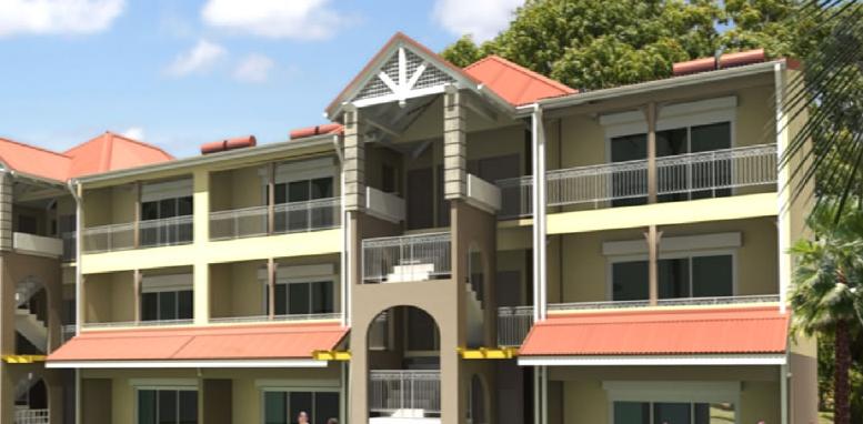 Immeuble de logements defiscalisés